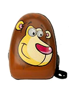 Buddyboo 145034 Brown Unisex Brown Unisex Cartoon Kids Backpack
