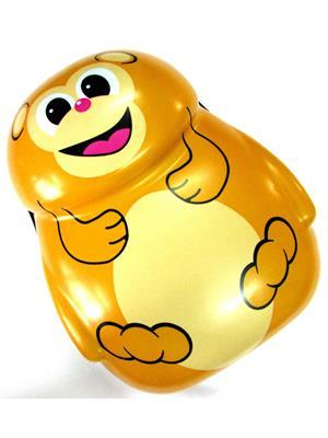 Buddyboo 145037 Yellow Unisex Monkey Cartoon Kids Backpack
