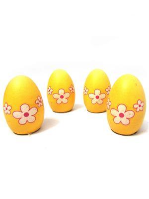 Buddyboo 145049 Yellow Grass Growing Egg Set Of 4