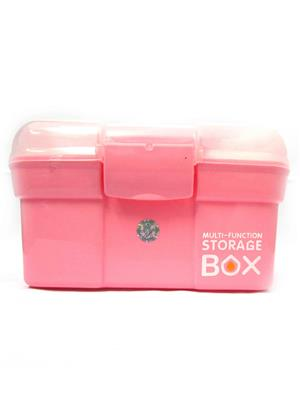 Buddyboo 145080 Pink Storage Box With Layers