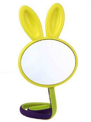 Buddyboo 145089 Yellow Kids Rabbit Cosmetic Mirror