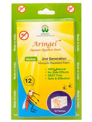 Aringel 0014 50 Herbal Mosquito Repellent Patches