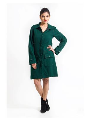 Fbbic 15034 Green Women Coat