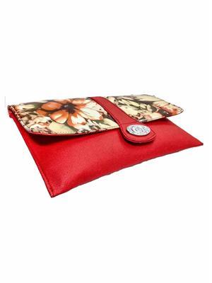Walletmania 150411A Lovely Red Fancy Women Hand Clutch