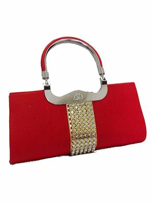 Walletmania 150907A Lovely Red Sensual Women Hand Clutch