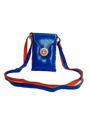 Walletmania 150915B  Lovely Blue Small Women Sling Bag
