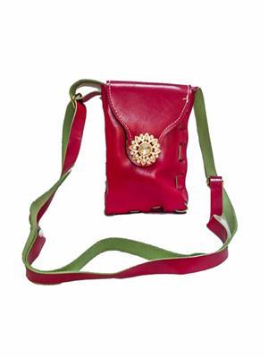 Walletmania 150915E  Classic Maroon Small Women Sling Bag