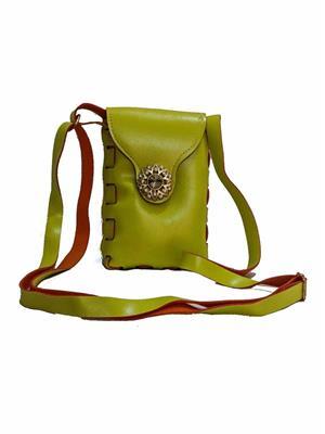 Walletmania 150915F  Pistachhio Green Small Women Sling Bag