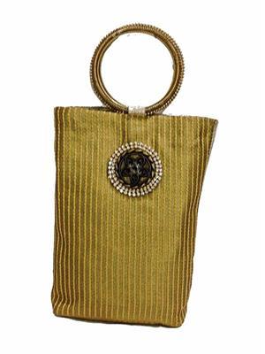 Walletmania 15095E Golden Designer Potli