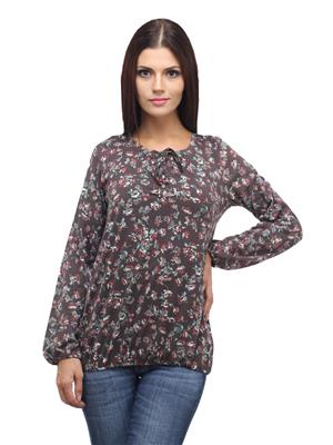 Madame 15195 Brown Women Top