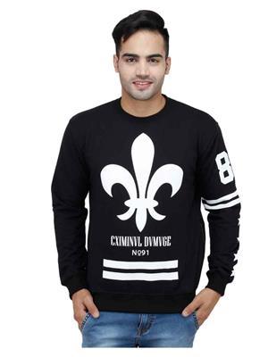 Trendy Bandey TBS-15502 Black Men Sweatshirt