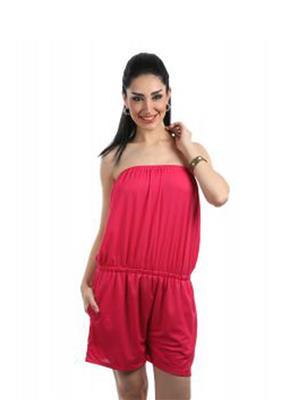 Fbbic 16002 Pink Women Jumpsuit