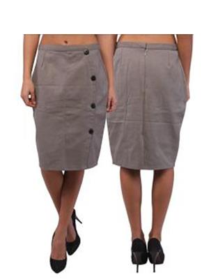 Fbbic 16043 Grey  Women Skirt