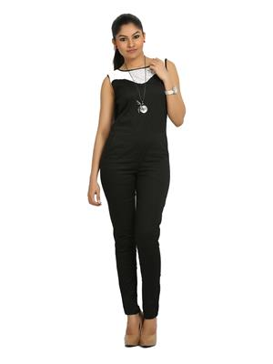 Fbbic 16121 Black  Women Jumpsuit