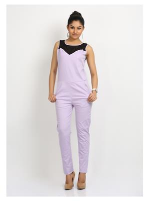 Fbbic 16128 Purple Women Jumpsuit
