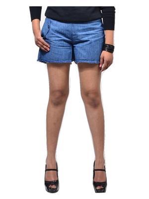 Fbbic 16157 Blue Women Short