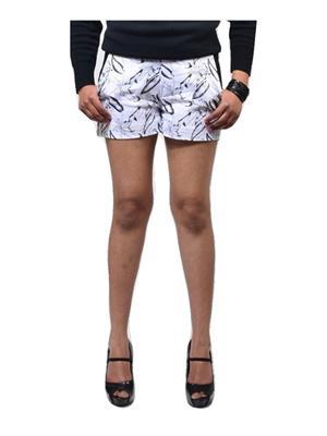 Fbbic 16161 White Women Short