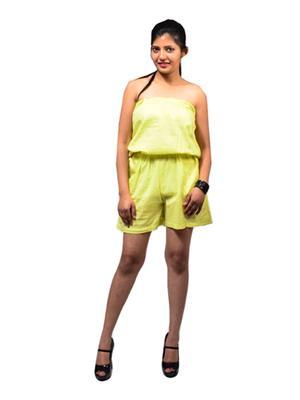 Fbbic 16193 Green Women Jumpsuit