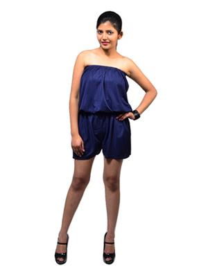 Fbbic 16195 Blue Women Jumpsuit