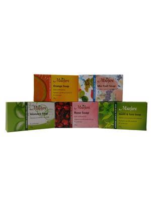 Mxofere 165Omvrn Natural Handmade Soap Set Of 5