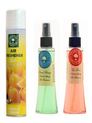 Aromatree 166acsost3007575 Room Freshener 75 Ml Set Of 3