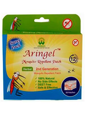 Aringel 0016 50 Herbal Mosquito Repellent Patches