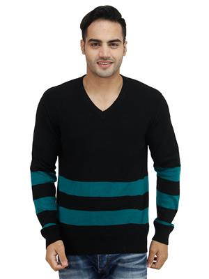 Levis 17209-0001 Black V Neck Men Sweater