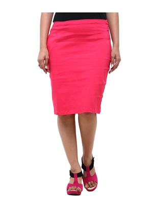 Fbbic 18001 Pink Women Skirt