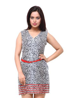 Fbbic 18029 Grey Women Dresses
