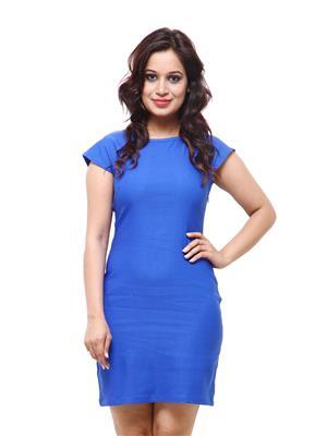 Fbbic 18044 Blue Women Dresses