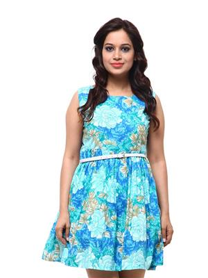 Fbbic 18052 Blue Women Dresses