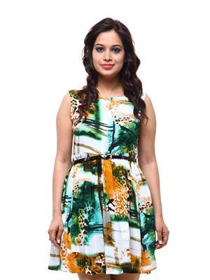 Fbbic 18054 Multicolored Women Dresses