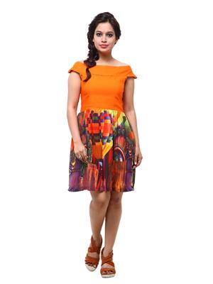 Fbbic 18060 Multicolored Women Dresses