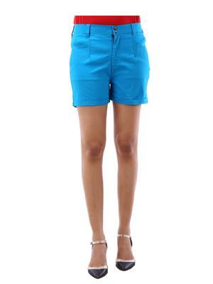 Fbbic 18111 Firozi Women Short