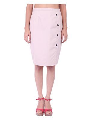 Fbbic 18135 Beige Women Skirt
