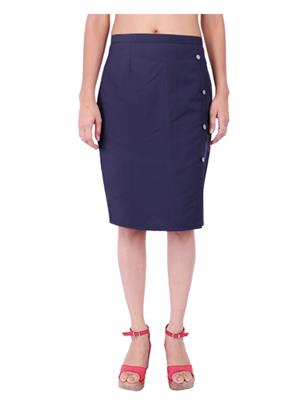 Fbbic 18140 Blue Women Skirt