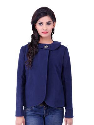Fbbic 18151 Blue Women Coat