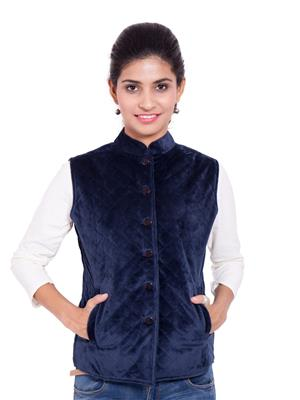 Fbbic 18200 Royal Blue Women Jacket