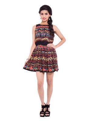 Fbbic 18225 Multicolored Women Dresses