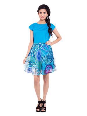 Fbbic 18229 Blue Women Dresses