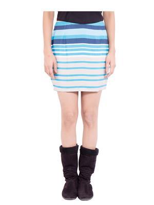 Fbbic 18240 Multicolored Women Skirt