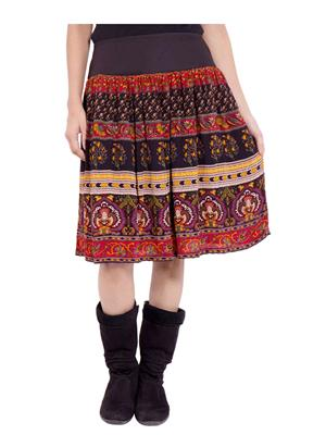 Fbbic 18243 Multicolored Women Skirt