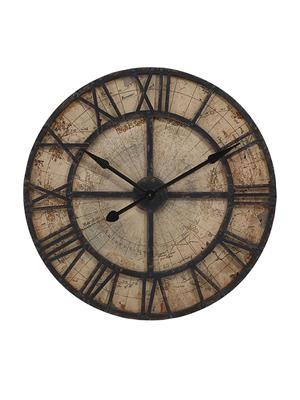 Interior Passion 18308 Bryan Map Wall Clock