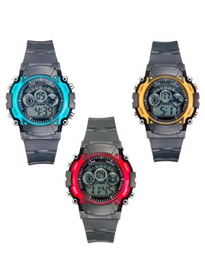 Mango People 2012 Black Unisex Sports Digital Watches
