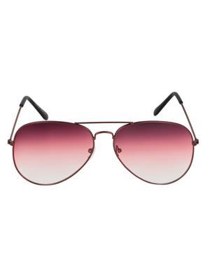 Adine  206-Copper-Pink Aviator Sunglasses