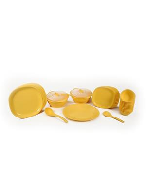 Signoraware 208 Yellow Dinner Set Of 31