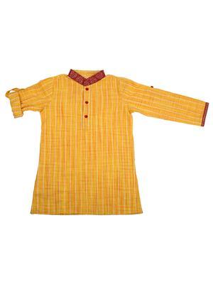 Fbbic 2132 Yellow Boy Kurta