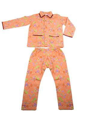 Fbbic 2145 Orange Boy Night Wear