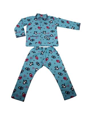 Fbbic 2148 Firozi Boy Night Wear