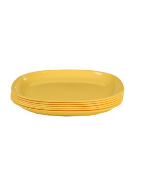 Signoraware 214 Yellow Plate Set Of 6